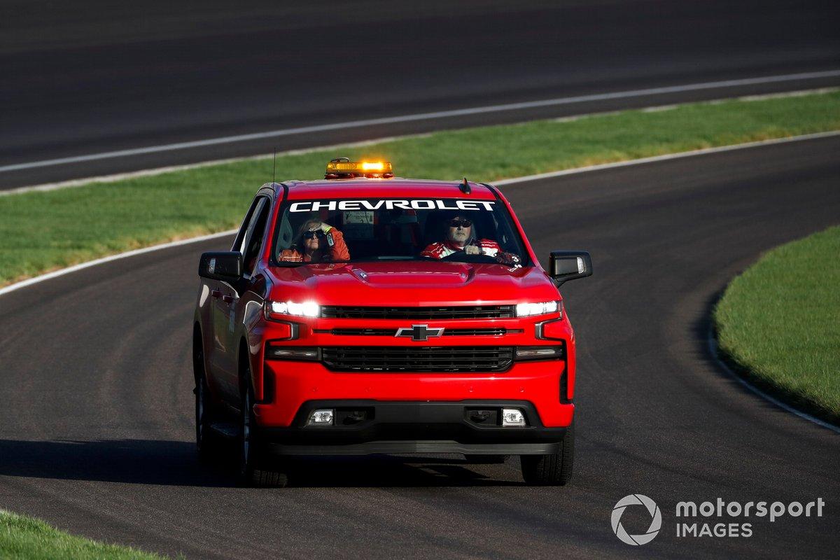 Vehículo de seguridad Chevrolet para el Indianapolis Motor Speedway