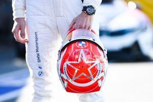 The helmet of Maximilian Günther, BMW I Andretti Motorsport