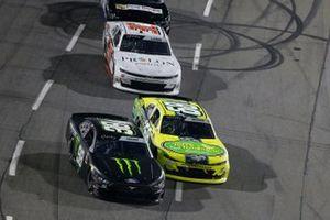 Riley Herbst, Stewart-Haas Racing, Ford Mustang Monster Energy, Brandon Brown, Brandonbilt Motorsports, Chevrolet Camaro Original Larry's Hard Lemonade