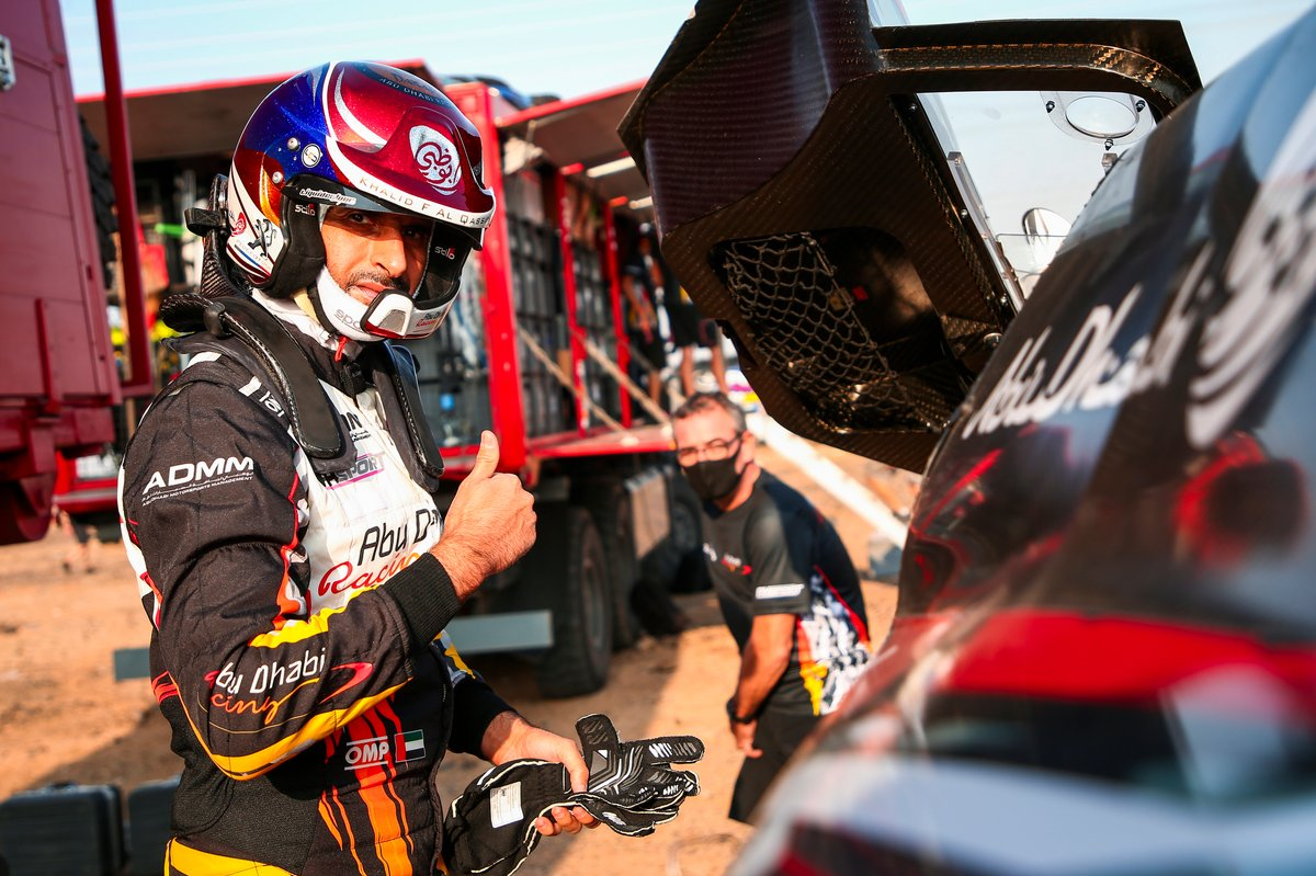 #310 Abu Dhabi Racing Peugeot: Sheikh Khalid Al Qassimi
