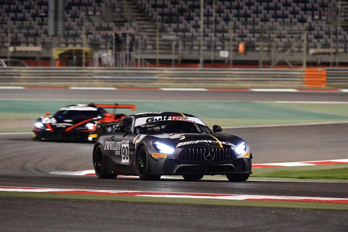 #90 Scuderia Villorba Corse, Mercedes-AMG GT4: Jean-Luc D'Auria, Benedetto Strignano, Piero Randazzo, Michele Camarlinghi