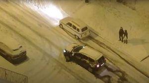 La nevada en Madrid y el duelo Renault 4 latas vs Dacia Duster
