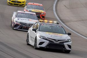 Toyota Camry TRD pace car, Denny Hamlin, Joe Gibbs Racing, Toyota Camry FedEx Ground, Martin Truex Jr., Joe Gibbs Racing, Toyota Camry Bass Pro Shops