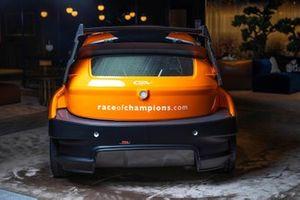 RX2e coche eléctrico de rallycross con los colores de la Race Of Champions