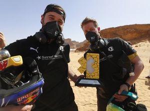Andretti United Extreme E team con el trofeo