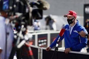 Nikita Mazepin, Haas F1, met de media