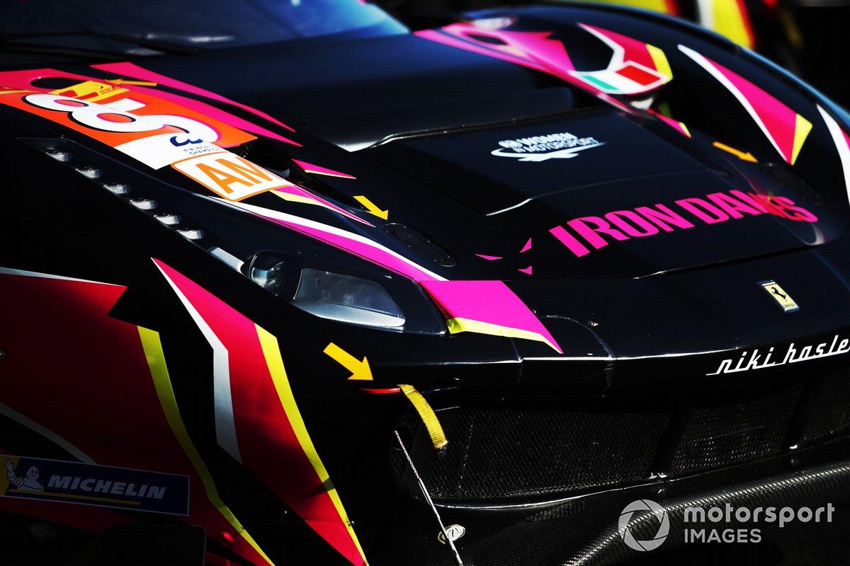 #85 Iron Lynx Ferrari 488 GTE EVO: Rahel Frey, Katherine Legge, Manuela Gostner