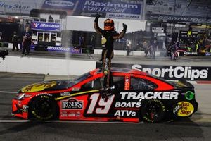 Race winner Martin Truex Jr., Joe Gibbs Racing, Toyota Camry Bass Pro
