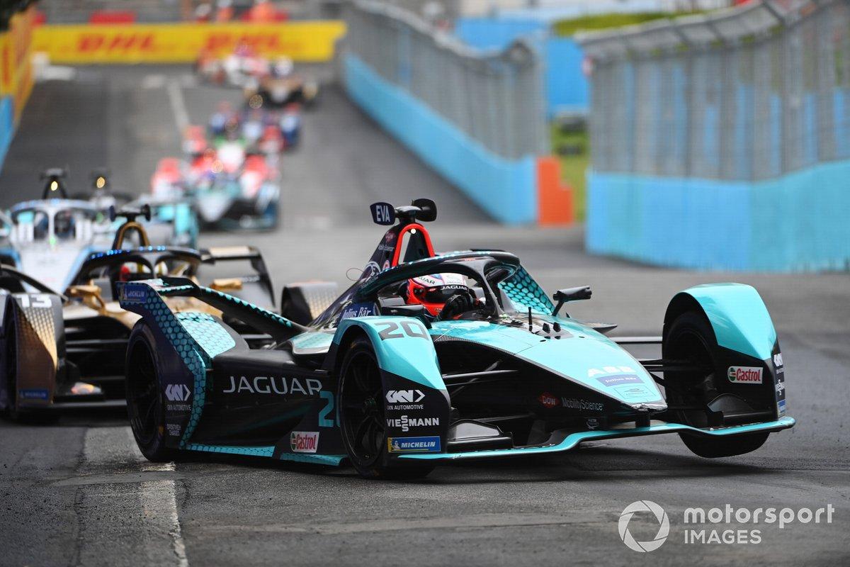 Mitch Evans, Jaguar Racing, Jaguar I-Type 5, Antonio Felix Da Costa, DS Techeetah, DS E-Tense FE21