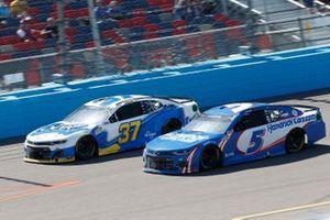 Ryan Preece, JTG Daugherty Racing, Chevrolet Camaro Scott Brand, Kyle Larson, Hendrick Motorsports, Chevrolet Camaro HendrickCars.com