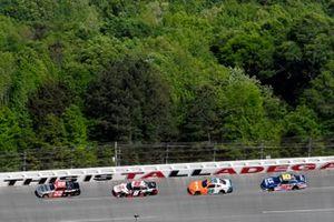 Austin Cindric, Team Penske, Ford Mustang Snap-On and Harrison Burton, Joe Gibbs Racing, Toyota Supra Offerpad