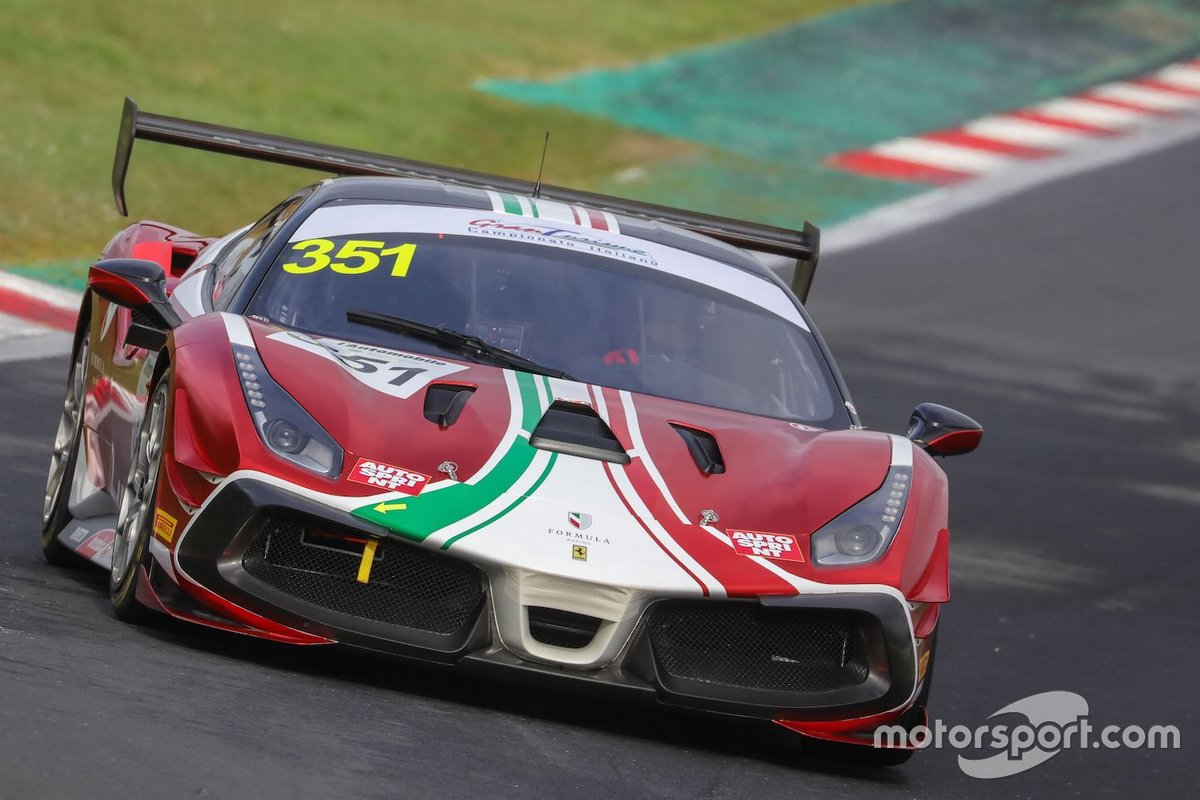 Christian Brusborg, AF Corse, Ferrari 488 Challenge