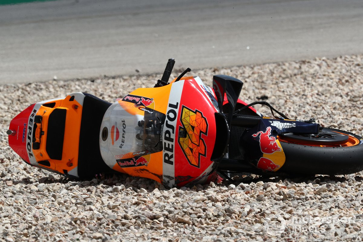 Pol Espargaro, Repsol Honda Team dopo l'incidente
