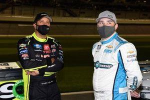 Matt Crafton, ThorSport Racing, Toyota Tundra Mold-Armor/Menards, Brett Moffitt, Niece Motorsports, Chevrolet Silverado Circle B Diecast