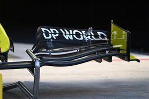 Renault F1 Team R.S.20 voorvleugel detail