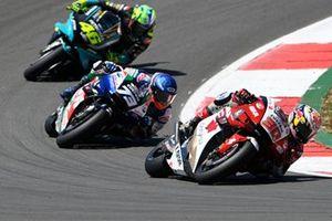 Takaaki Nakagami, Team LCR Honda, Alex Marquez, Team LCR Honda, Valentino Rossi, Petronas Yamaha SRT