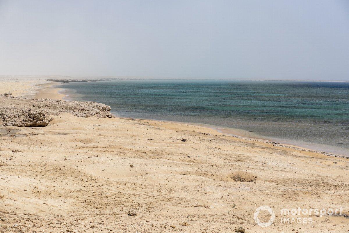 La playa donde se llevó a cabo la limpieza.