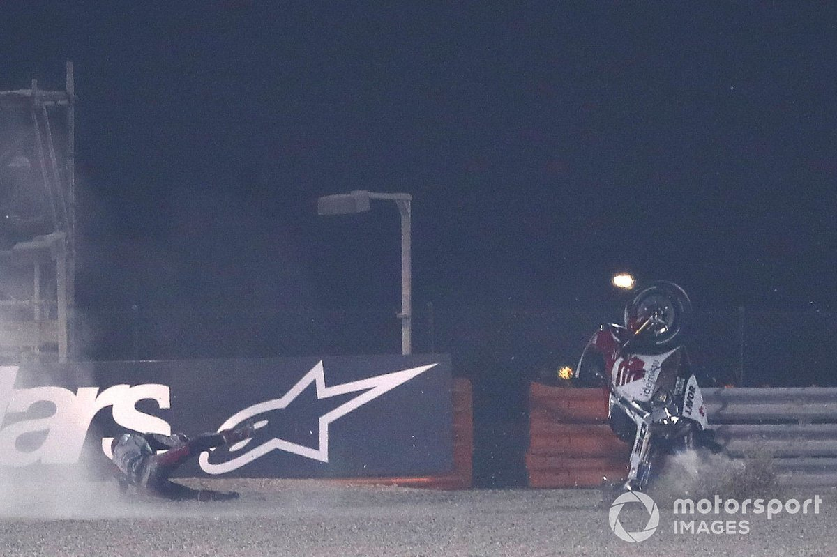 L'accident de Takaaki Nakagami, Team LCR Honda