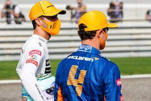 Daniel Ricciardo, McLaren y Lando Norris, McLaren
