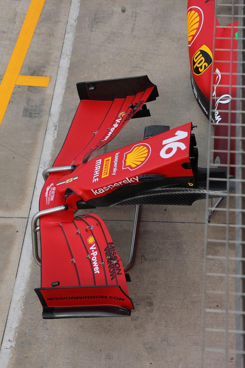 Alerón delantero del Ferrari SF21