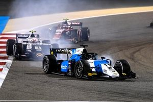 Richard Verschoor, MP Motorsport, leads Ralph Boschung, Campos Racing, and Marino Sato, Trident