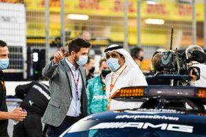 Prince Khalid Bin Sultan Al Faisal, president of the Saudi Arabian motorsport federation