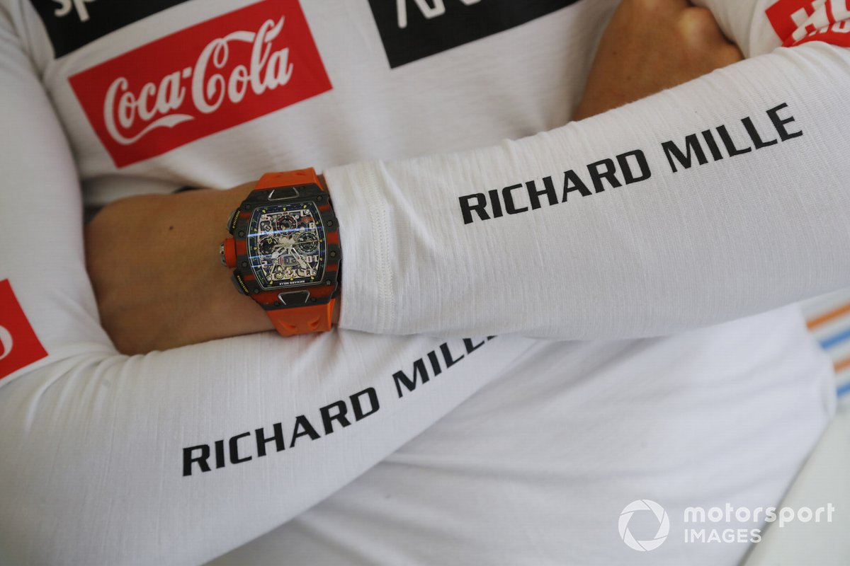 El reloj de Lando Norris, McLaren