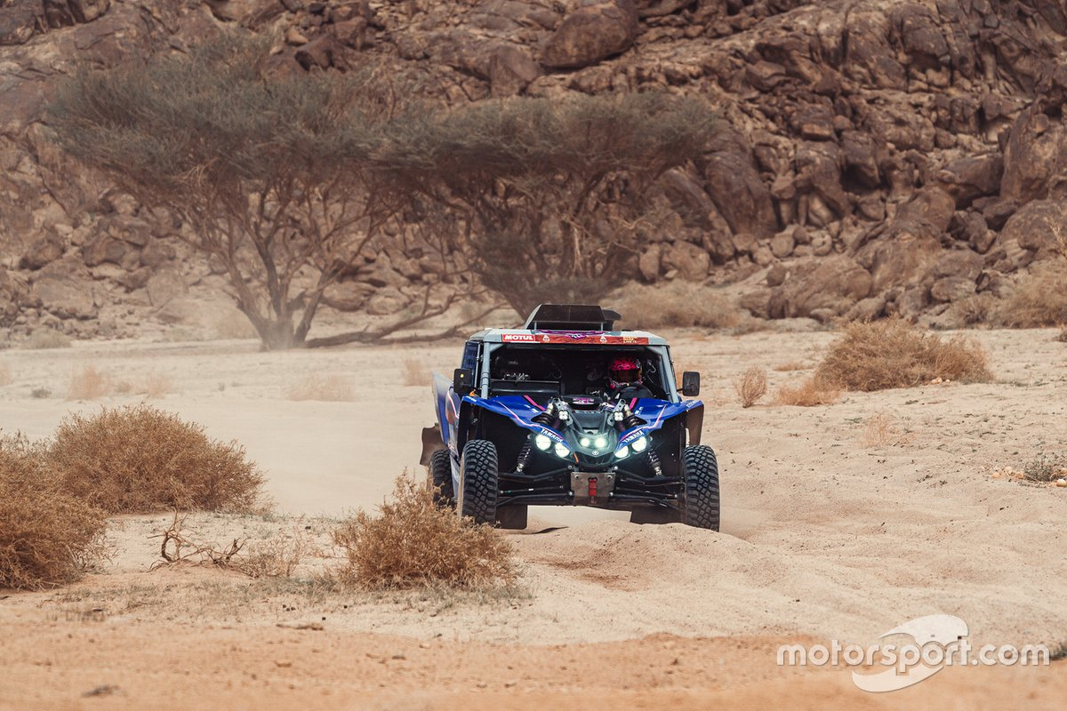 #391 X-Raid Yamaha Racing Rally Supported Team: Camelia Liparoti, Annett Fischer