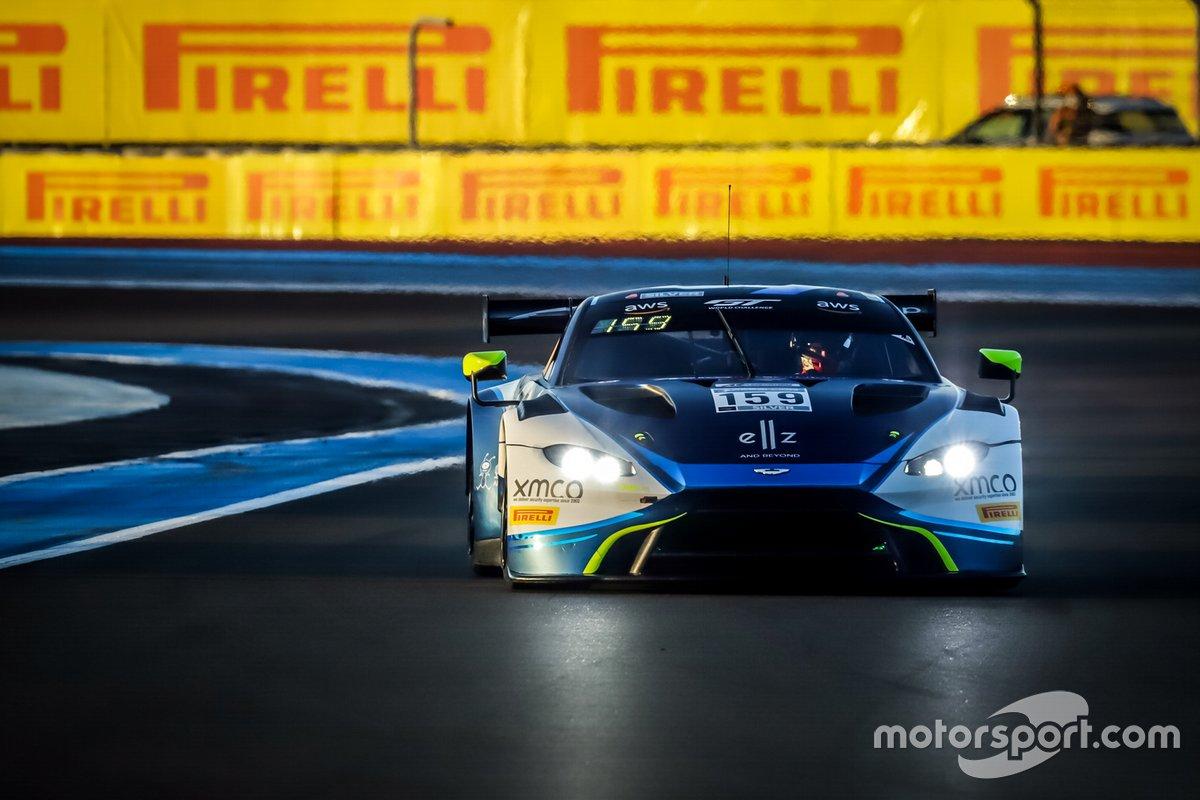 #159 Garage 59 Aston Martin Vantage AMR GT3: Valentin Hasse Clot, Andrew Watson, James Pull