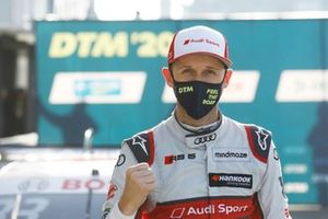 Pole sitter Rene Rast, Audi Sport Team Rosberg