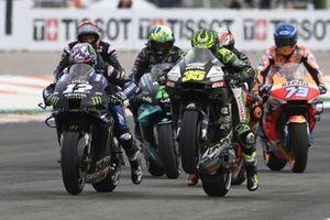 Cal Crutchlow, Team LCR Honda, Maverick Vinales, Yamaha Factory Racing, prove di partenza