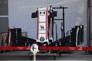 Alerón delantero del Alfa Romeo C39