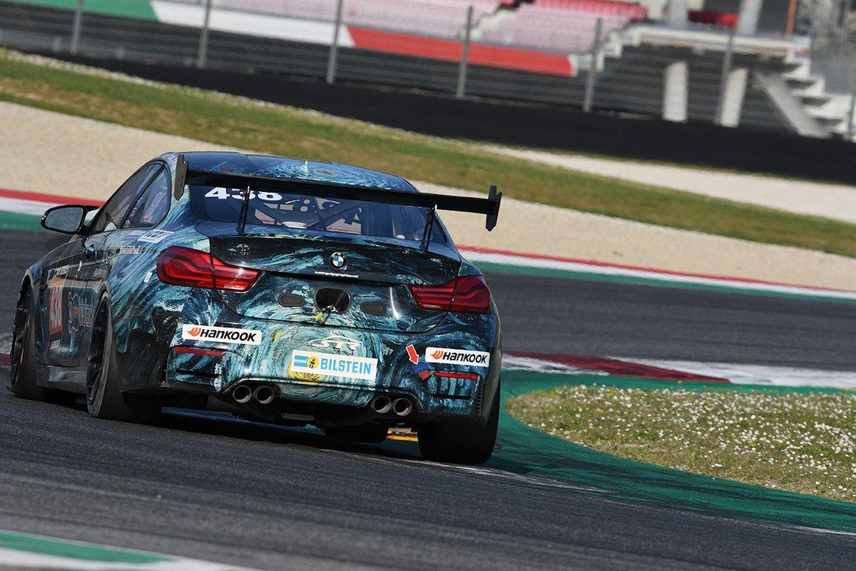 #438 ST Racing: Samantha Tan, Chandler Hull, Jon Miller, BMW M4