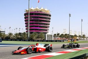 Oscar Piastri, Prema Racing and Dan Ticktum, Carlin