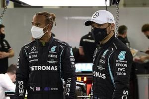 Lewis Hamilton, Mercedes, and Valtteri Bottas, Mercedes