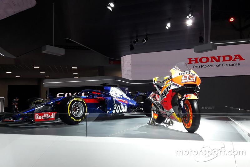 Toro Rosso e Honda de Marc Márquez