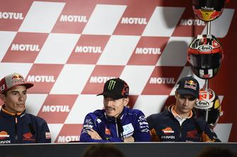 Marc Marquez, Repsol Honda Team, Maverick Viñales, Yamaha Factory Racing, Dani Pedrosa, Repspl Honda Team