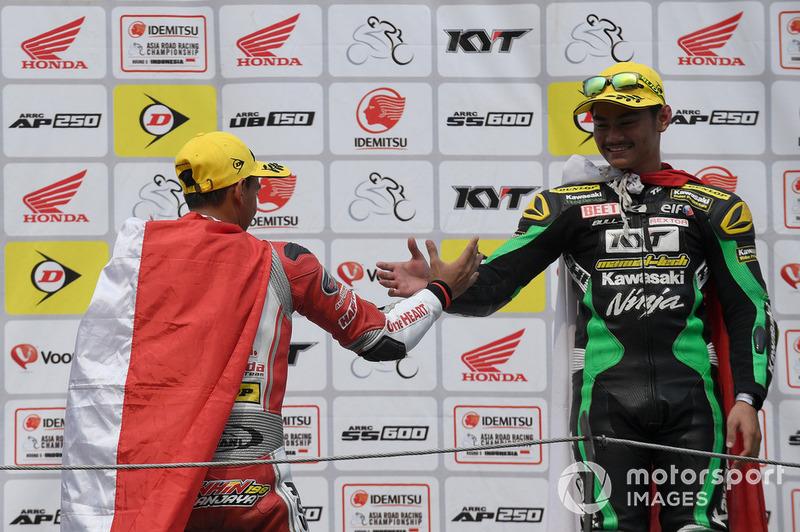 Awhin Sanjaya, Astra Honda Racing Team dan AM Fadly, Manual Tech KYT Kawasaki Racing