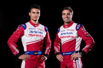 Гонщики Mahindra Racing Паскаль Верляйн и Жером д'Амброзио