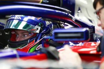 Brendon Hartley, Toro Rosso STR13, dans son cockpit