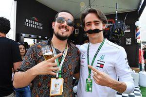 Блогер Хука Виапри и Эстебан Гутьеррес