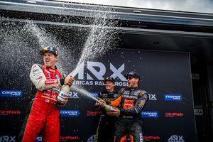 Tanner Foust, Volkswagen Motorsport, Scott Speed, Volkswagen Motorsport, Steve Arpin