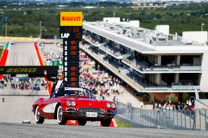 Valtteri Bottas, Mercedes AMG F1, tijdens de rijdersparade