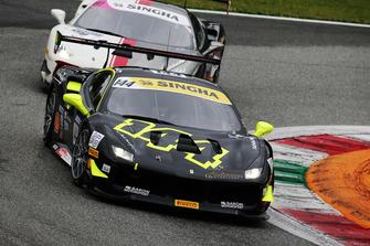 Ferrari 488 #144 Baron motorsport; Vladimir Hladik