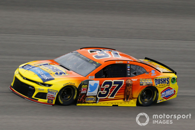 21. Chris Buescher, JTG Daugherty Racing, Chevrolet Camaro Bush's Chili Beans