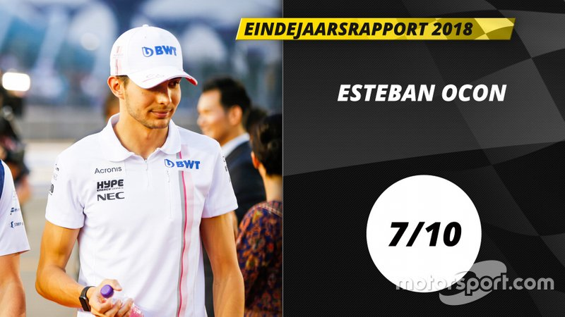 Eindrapport 2018: Esteban Ocon