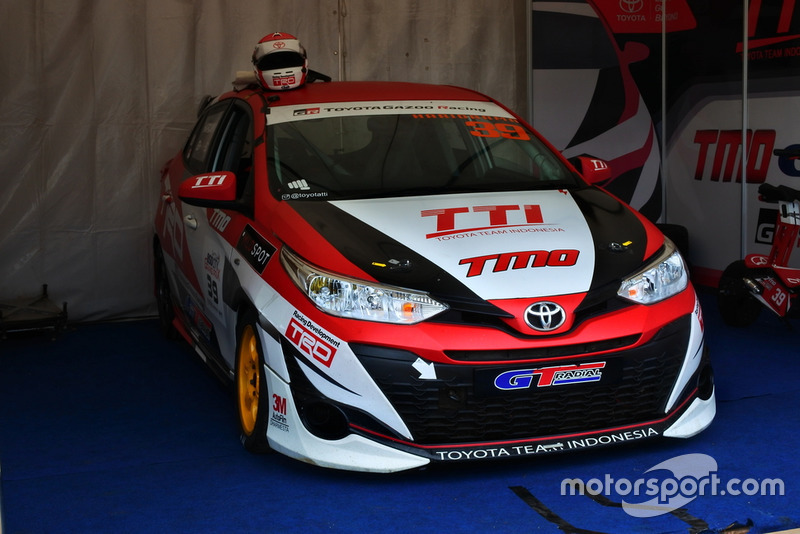 All New Toyota Yaris, Haridarma Manoppo, Toyota Team Indonesia, ITCC 1600 Max