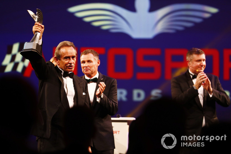 Gregor Grant Award (trophée d'honneur) : Jacky Ickx