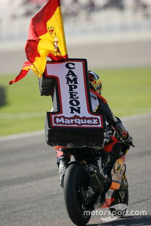Marc Marquez, World champion