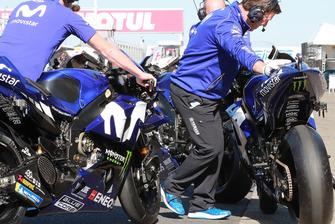 Les motos Yamaha Factory Racing